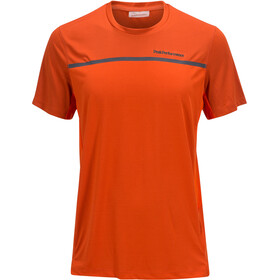 Peak Performance Rucker Tee Men orange lava